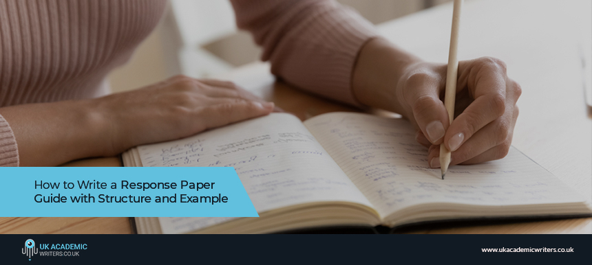 How to Write a Response Paper Guide with Structure and Example